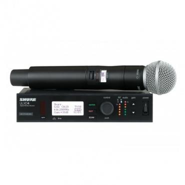 Радиосистема SHURE ULXD24E/SM58 K51 606 - 670 MHz